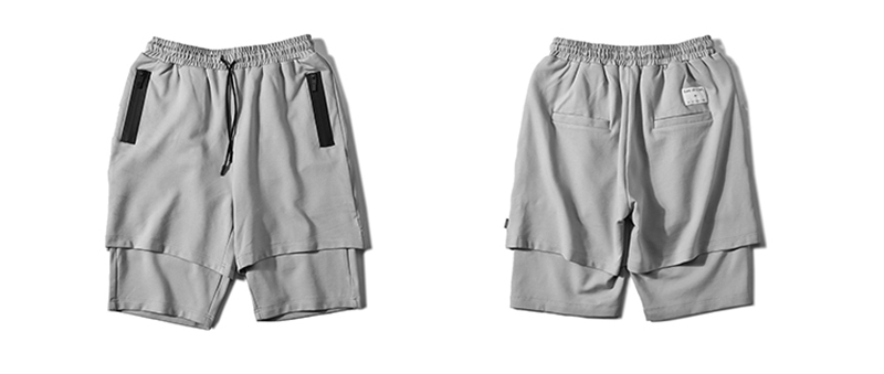 Body Engineers Baggy Mens Long Cargo Shorts Hip Hop (19)