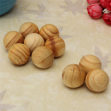 New 10 Pcs /lot Home Fragrance pure Natural Sandalwood Fragrant Moth Balls Wood Fresh Air Ball Flavor For Wardrobe Closet Car