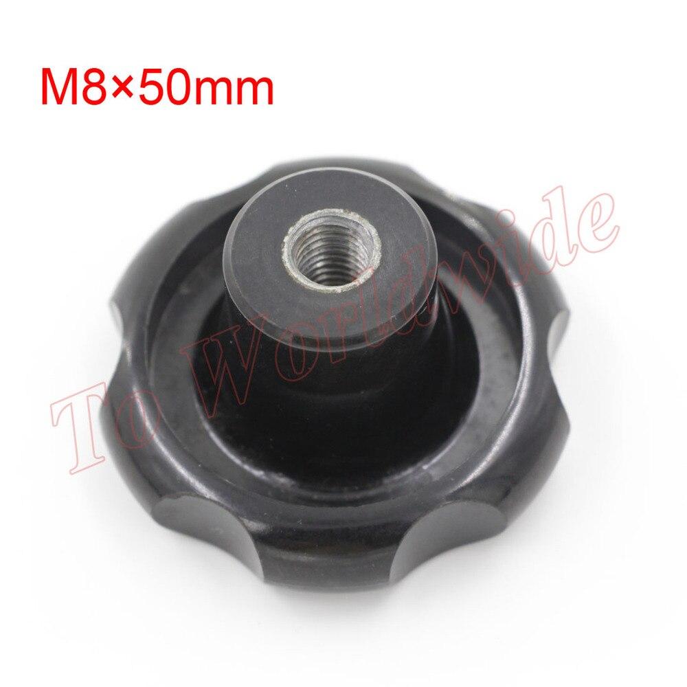 Free Shipping M8 Thread Dia 50mm Head Dia Star Shaped Clamping Nuts Knob 6pcs<br><br>Aliexpress