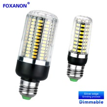 Dimmable No Flicker Led Bulb E27 E14 5W 10W 15W 220V Led Corn Lamp Smart Three Level Dimmer Leds Bulb 5733SMD Leds Dimming Lamps