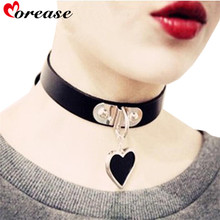 Buy Morease Bondage Punk Collar Women Sexy Necklace Slave Restraints Cosplay Fetsih Erotic Wear Sex Toy Product sexo juguetes