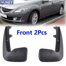 For Mazda 6 2009-2013 GH Series 2Pc Front L/R Car Mud Flaps Mudflaps Splash Guards Mud Flap Mudguards Fender 2010 2011 2012(China)