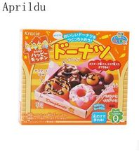 1bag Popin Cook Happy Donut DIY Toys.Kracie Donut cookin happy kitchen Japanese handmade toy(China)