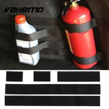 Cars Stickers Belts Car Trunk Storage Bag Magic Tapes Car Styling Fire Extinguisher Bandage Fixed Belt Bracket Stickers Straps(China)
