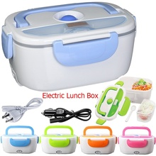 Buy Newcomdigi Multifunctional Electric Car Plug Heating Lunch Box Food Heater 12V Portable Heater Food Warmer Lunch Box for $19.99 in AliExpress store