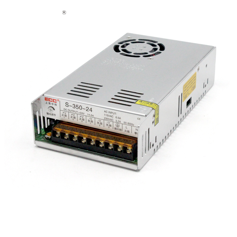 S-350W-24V14.6A Switching Mode Power Supply Monitor Medical Care Electric Machinery AC220V Change DC Direct<br>