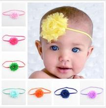 2016 New 20pcs/lot shabby chic Headband skinny elastic headband Girls hair accessories turban hairbands