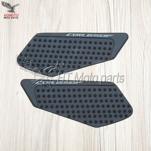 Motorcycle Tank Traction Pad Side Gas Decal Knee Grip Protector Tank Sticker Cover For Honda CBR650F CBR 650 F CBR650 2013-2017