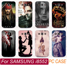 Top Selling i8552 US Drama King Crown Cool Man Sexy Girl Painted Phone Cases Shell For Samsung Galaxy Win i8552 Phone Case Cover(China)