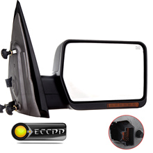 Eccpp Passenger Power Heated LED Turn Signal Rearview Mirror For 2004 2005 2006 Ford F-150 F150 Truck Towing Right Side Mirror