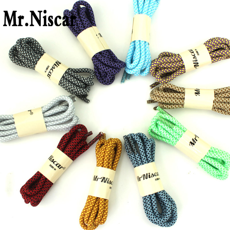 LEO 10 Pair Design Practical Strong Round Shoelace High Quality Mountain Climbing Shoestring Shoelaces Length:120/140cm<br><br>Aliexpress