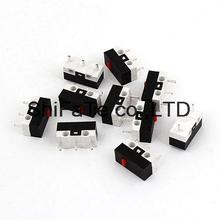 NO NC SPDT DC 30V 0.05A Actuator Mini Micro Limit Switches 10 Pcs