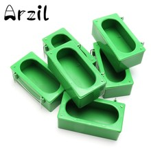 Storage Box 6Pcs/lot Bird Feeding Food Parrot Bowl Box Middle Large Cockatiel Bowl Sink Water Hanging Cage Plastic Bird Supplies(China)