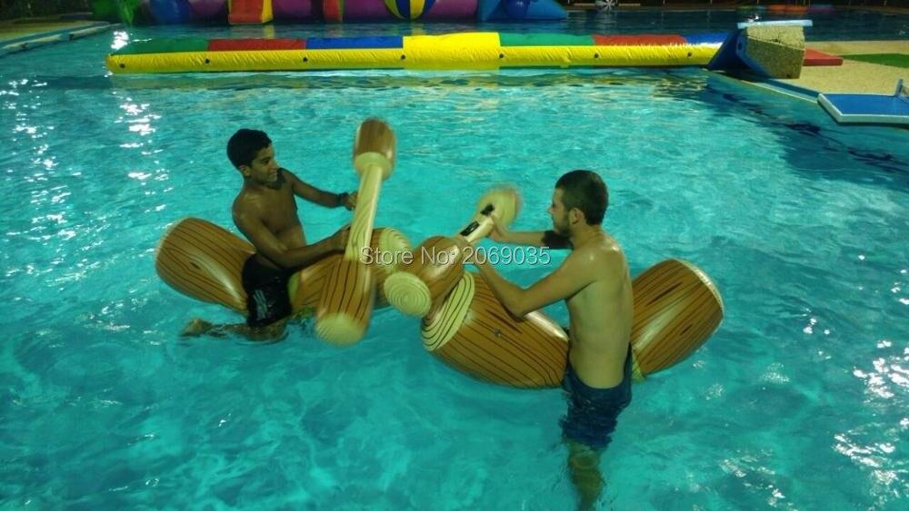 HTB1a9e7RpXXXXbQXXXXq6xXFXXX4 - 4 Pieces/set Joust Pool Float Game Inflatable Water Sports Bumper Toys For Adult Children Party Gladiator Raft Kickboard Piscina