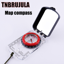 Pocket map compass gift compass outdoor mountaineering tourism compass  free shipping CH68FS