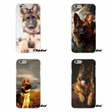 For Huawei G7 G8 P8 P9 Lite Honor 4C 5X 5C 6X Mate 7 8 9 Y3 Y5 Y6 II Awesome German Shepherd Dog Puppy Silicone Cell Phone Case