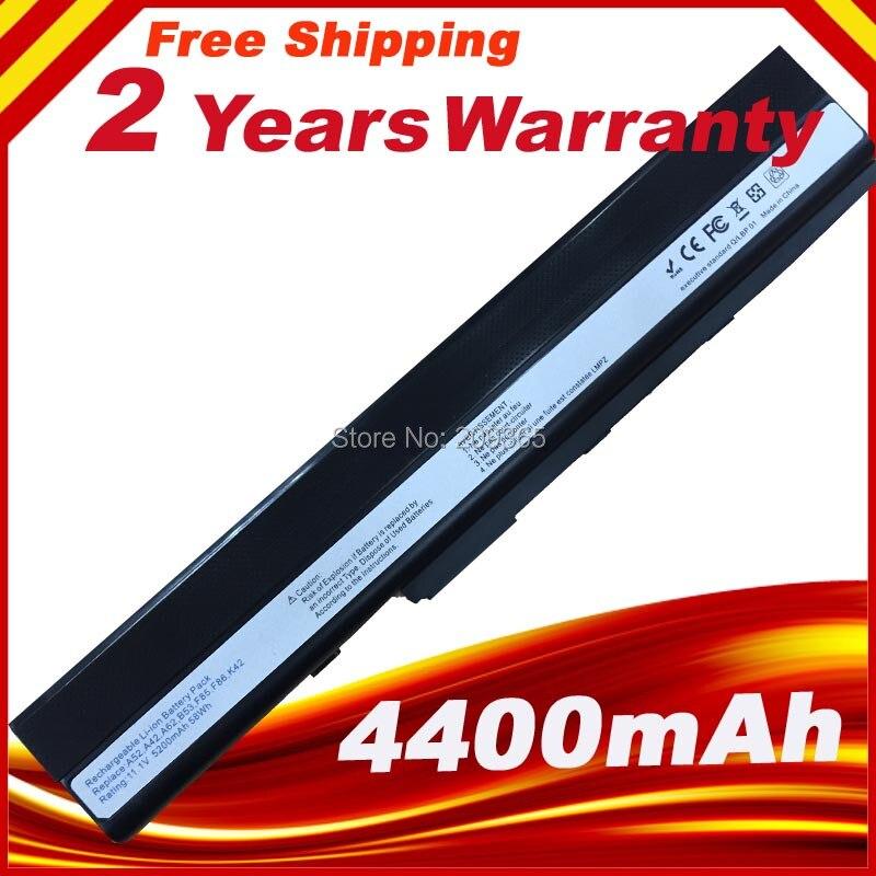 Battery Pack for Asus A42  K42  A52 K52 X52 A31-K52 A32-K52 K42F K42JB K42JK K42JR K42JV K52f<br><br>Aliexpress