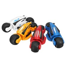 Children Puzzled Toys 4 Colors Concept Inertial Model Motorcycle Friction Toy Cartoon Gift for kids 1-3 years(China)