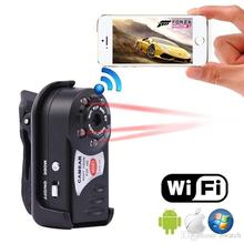 Free Shipping Night Vision Q7 Mini DV P2P WiFi Action LED Hidden IR Security Video Camera