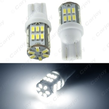 50pcs Super White 3W T10 W5W 3014 Chip 30-SMD Canbus No-Error Car Clearance Lamp/Reading LED Light #CA4196