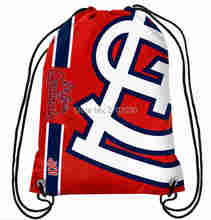 St Louis Cardinals Drawstring Bags Men Sports Backpack Digital Printing Pouch Customize Bags 35*45cm Sports US Baseball Team(China)