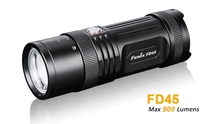 2017 NEW FENIX FD45 Flashlights Cree XP-L HI neutral white LED Uses 4*AA batterieshigh-performance rotary focusing flashlight(China)