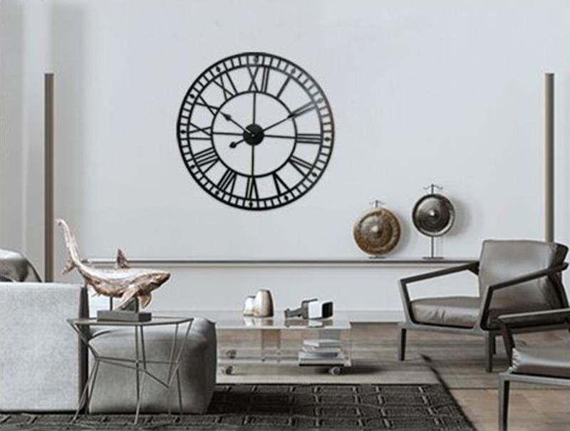 big clock wall mirror wall clock (5)