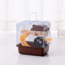 Hot sell Recommended Goods Large Luxury Cages For Hamsters Transport Super Hamster Cage Accessories Plastic Guinea pigs House(China)
