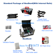 NeoDen4 SMT SMD LED Pick and Place Machine/Automatic SMT Mounter SMD Pick and Place Machine/Pick Place SMT,8 Feeders Equipped