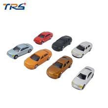 Teraysun 2017 new style plastic model car kits 1:150 miniature resin scale car model for scenery landscape