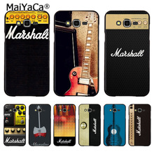 MaiYaCa sh1757 Marshall guitar amp gold Luxury Fashion 3D Phone Case for samsung J510 j1 j3 j7 note 3 note4 note5 case coque(China)