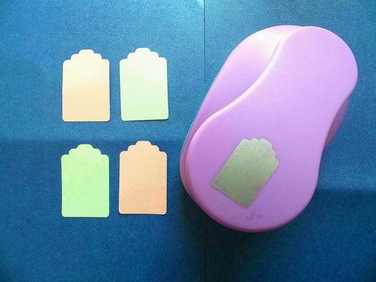 free shipping 3(7.6cm) battery shape EVA foam punch DIY craft punch for greeting card furador Scrapbook Handmade puncher<br>