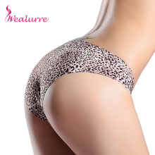 Wealurre Luxury Sexy Leopard Grain Lycra Fabric Ultra-thin Comfortable Underwear  Seamless Panties for women Briefs feminine