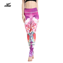 Buy HTLD Print Women Workout Leggings Fitness High Waist Elastic Leggings Gothic Sweatpants Leggins Sexy Casual Pants Pantalon femme for $12.99 in AliExpress store