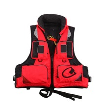 Unisex Polyester Fishing Life Jacket L-XXL Outdoor Sport Safety Life Vest For Boat Drifting Survival Swimwear Colete
