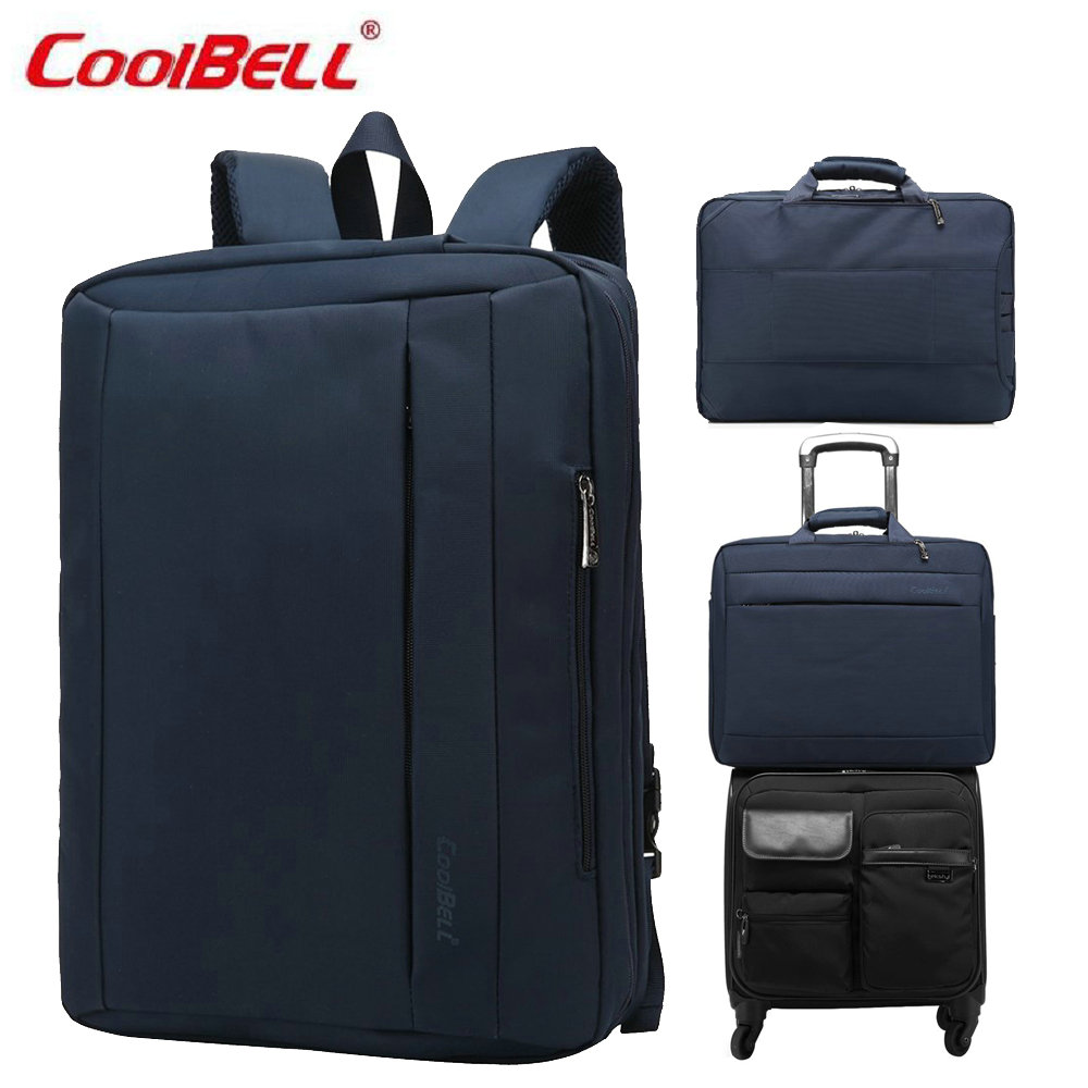 COOLBELL Multi-functional three-use 17 inch Laptop Briefcase Shoulder bag messenger Men Women Laptop Notebook Computer Bag-5<br>