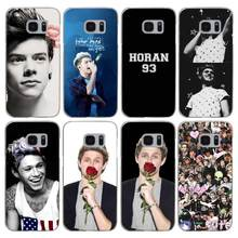 H158 Niall Horan One Direction Transparent Hard PC Case Cover For Samsung Galaxy S 3 4 5 6 7 8 Mini Edge Plus Note 3 4 5 8(China)