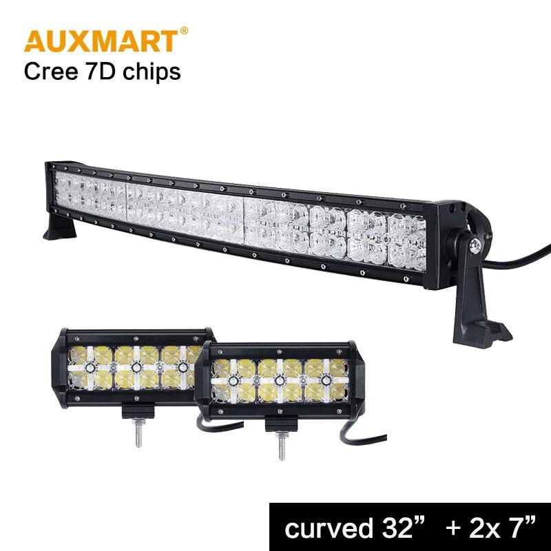 52 inch 300W CREE Spot amp Flood Straight LED   Auxbeam