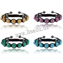 Shamballa Jewelry Bracelets For Women New Shamballa Bracelets Micro Pave CZ Disco Ball 10mm Bead Shamballa Bracelet