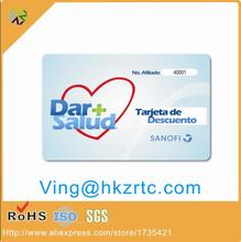 Free Design ~~!! New Material PVC business name card printing / PVC name card printing / Blank PVC