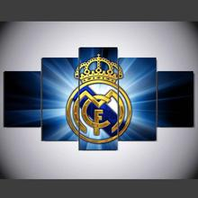 Canvas Printed La Liga Real Madrid Painting For Living Picture Wall Art HD Print Decor Modern Artworks Football Poster TP-1012