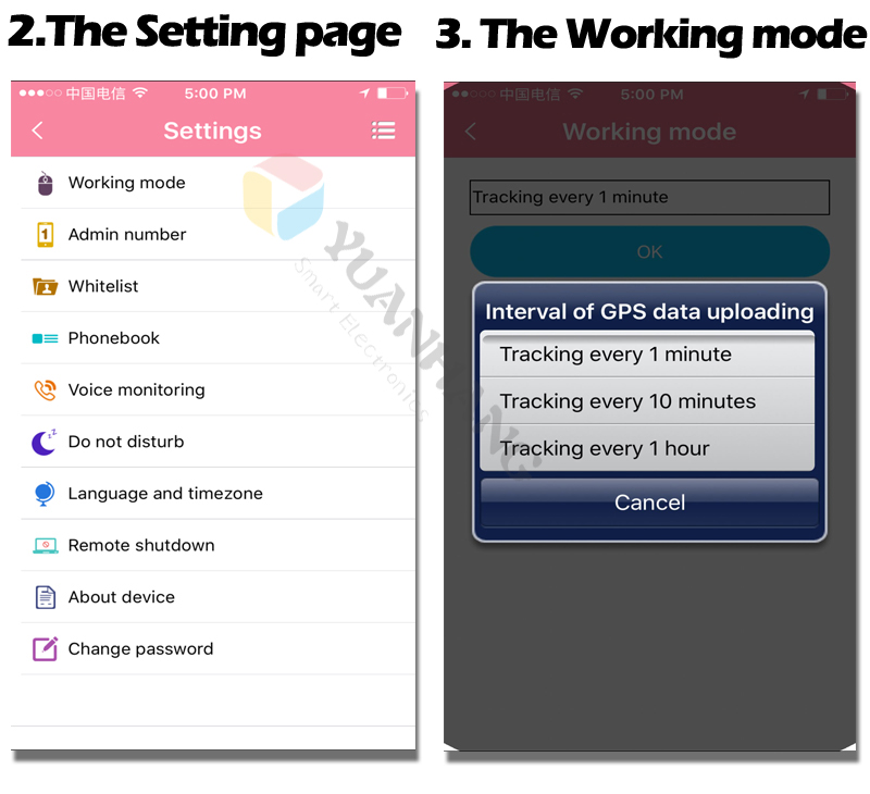 02setting and work mode