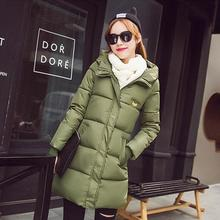 Cheap wholesale 2017 new Autumn Winter Hot sale women's fashion casual YX1074 snow warm Coat waterproof Jacket