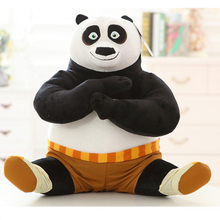 2016 New Movie KungFu Kung Fu Panda 3 Plush Toys Doll Panda Po 25CM 40CM 50CM Stuffed Toys Kids Holiday Gifts Birthday Gift
