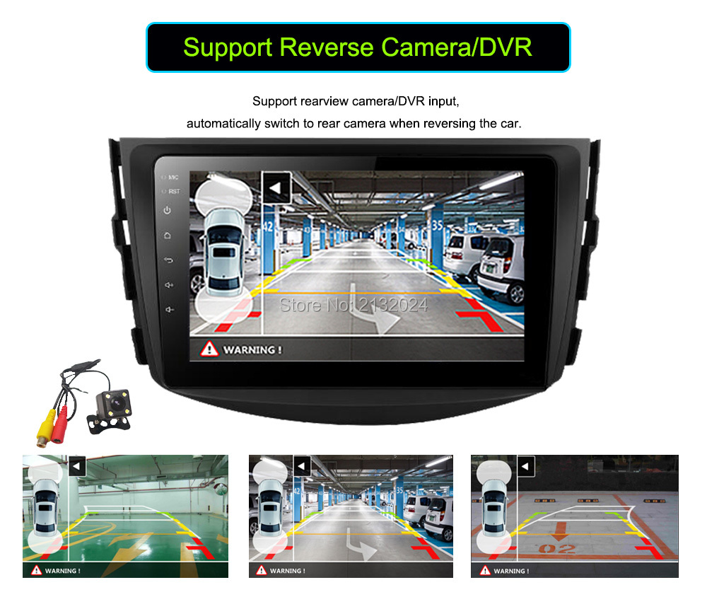 10.1 Inch Big screen Android 6.0 Quad core Car GPS navigation car DVD player For Toyota RAV4 2013 2014 2015 2016 multimedia