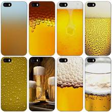Summer Beer Black Plastic Case Cover Shell for iPhone Apple 4 4s 5 5s SE 5c 6 6s 7 Plus