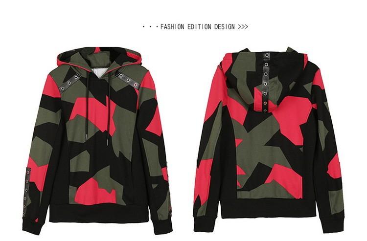 17 Women 2 Two Piece Set Camouflage Sporting Suit Femme Hoodies Sweatshirt Top And Pants Sweatsuit Set Casual Runway Tracksuit 9