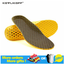 KOTLIKOFF Orthotic Arch Support Shoe Pad Soccer Sport Running Active carbon military training Basketball Insoles Insert Cushion