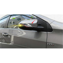Car ABS Rearview mirror stickers trim for  Camry 2012-2016