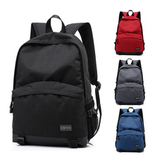 "New Nylon Woman's Laptop Backpacks 15.4' 15.6"" Inch For Sony Hp Travel Bag Business Bag Girls School Bag Red Black Grey Color(China)"